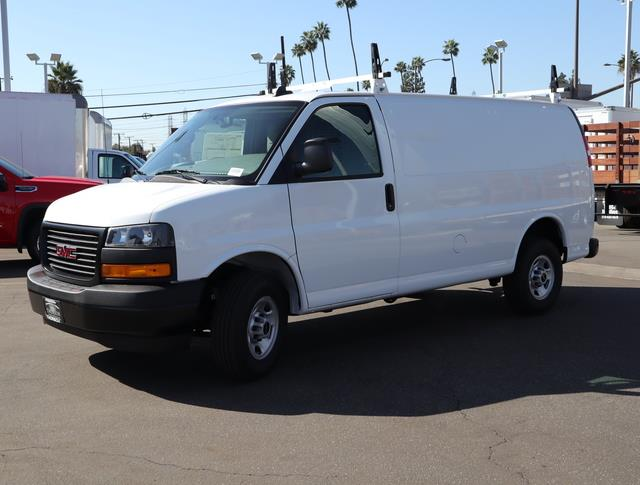 2020 GMC Savana 2500 4x2, Adrian Steel Upfitted Cargo Van #T50058 - photo 3