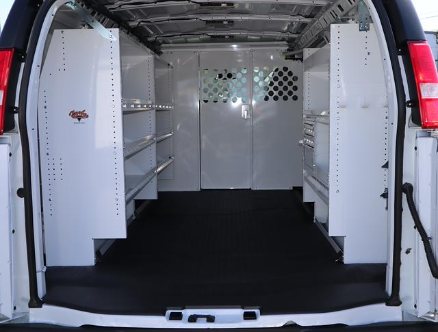 2020 GMC Savana 2500 4x2, Harbor Upfitted Cargo Van #T50249 - photo 2