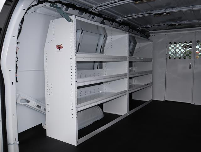 2021 GMC Savana 2500 4x2, Harbor Upfitted Cargo Van #T50572 - photo 6