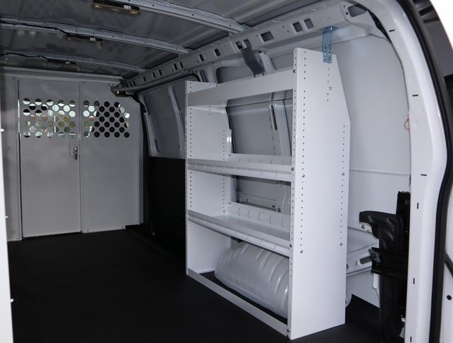 2021 GMC Savana 2500 4x2, Harbor Upfitted Cargo Van #T50572 - photo 7