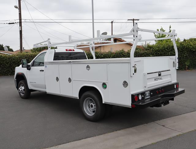 2021 GMC Sierra 3500 Regular Cab 4x2, Royal Truck Body Service Body #T50637 - photo 4