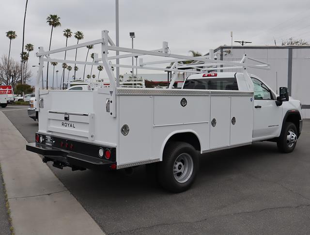 2021 GMC Sierra 3500 Regular Cab 4x2, Royal Truck Body Service Body #T50637 - photo 1