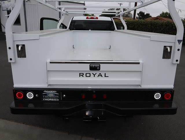 2021 GMC Sierra 3500 Regular Cab 4x2, Royal Truck Body Service Body #T50637 - photo 9