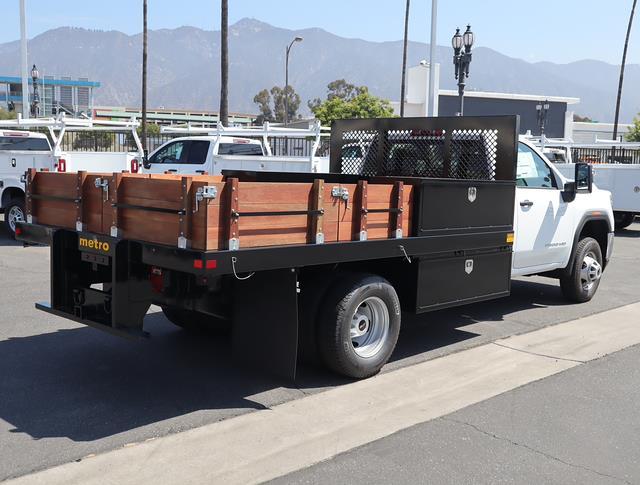 2021 GMC Sierra 3500 Regular Cab 4x2, Metro Truck Body Stake Bed #T50700 - photo 1