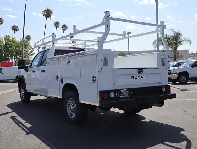 2021 GMC Sierra 2500 Double Cab 4x2, Royal Truck Body Service Body #T50831 - photo 4