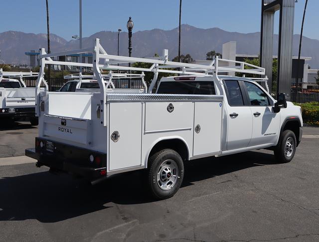 2021 GMC Sierra 2500 Double Cab 4x2, Royal Truck Body Service Body #T50832 - photo 1