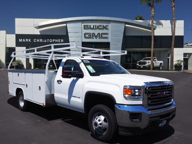 2018 Sierra 3500 Regular Cab DRW 4x2,  Harbor TradeMaster Service Body #23223 - photo 1