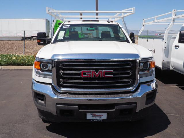 2018 Sierra 3500 Regular Cab DRW 4x2,  Harbor Service Body #23223 - photo 3