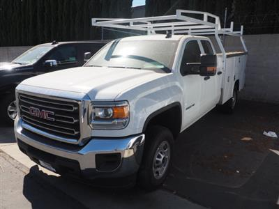 2019 Sierra 2500 Extended Cab 4x2,  Harbor TradeMaster Service Body #23648 - photo 11