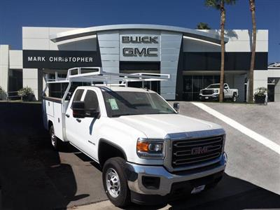 2019 Sierra 2500 Extended Cab 4x2,  Harbor TradeMaster Service Body #23648 - photo 1