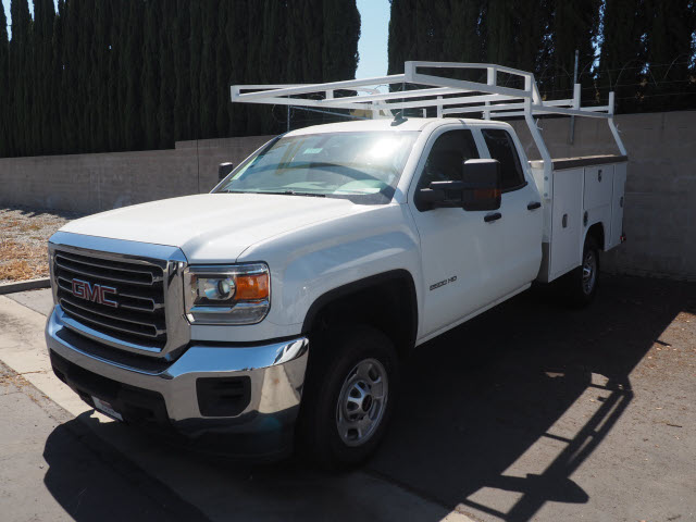 2019 Sierra 3500 Crew Cab DRW 4x4,  Harbor Service Body #23745 - photo 1