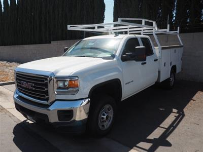 2019 Sierra 3500 Crew Cab DRW 4x4,  Harbor TradeMaster Service Body #23745 - photo 1