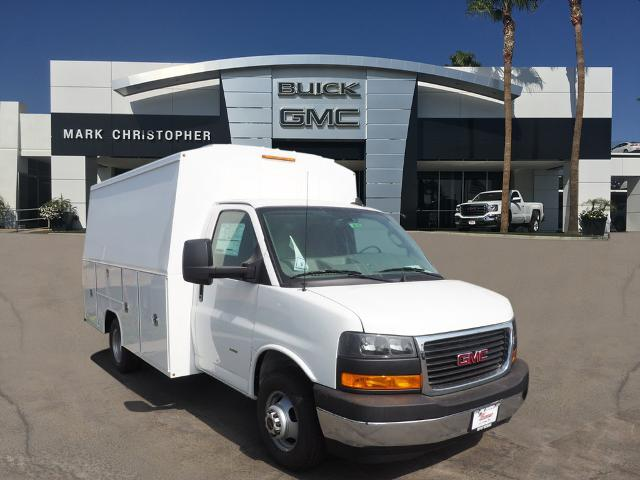 2020 GMC Savana 3500 4x2, Harbor Service Utility Van #24145 - photo 1