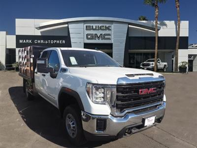 2020 GMC Sierra 2500 Double Cab 4x2, Harbor Stake Bed #24235 - photo 1