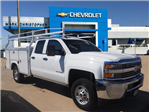 2017 Silverado 2500 Double Cab 4x2,  Royal Service Body #23140 - photo 1