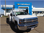 2017 Silverado 3500 Regular Cab DRW, Contractor Body #23209 - photo 1