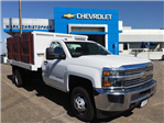 2017 Silverado 3500 Regular Cab DRW 4x2,  Royal Landscape Dump #23234 - photo 1