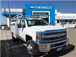 2017 Silverado 3500 Regular Cab DRW 4x2,  Royal Service Body #23247 - photo 1