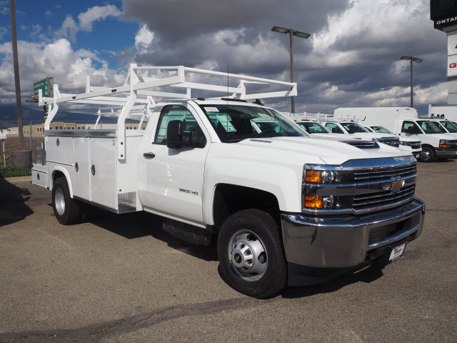 2018 Silverado 3500 Regular Cab DRW,  Royal Combo Body #23254 - photo 3