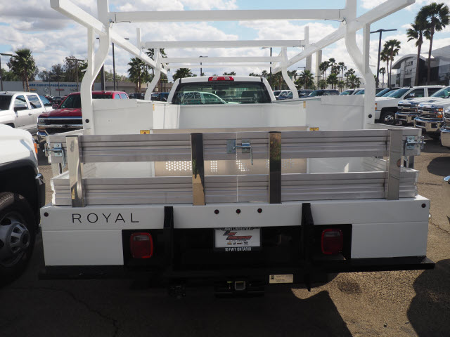 2018 Silverado 3500 Regular Cab DRW,  Royal Combo Body #23254 - photo 2