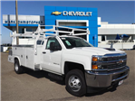 2018 Silverado 3500 Regular Cab DRW,  Royal Combo Body #23254 - photo 1