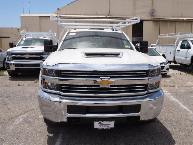 2018 Silverado 3500 Crew Cab DRW 4x2,  Harbor Service Body #23412 - photo 3