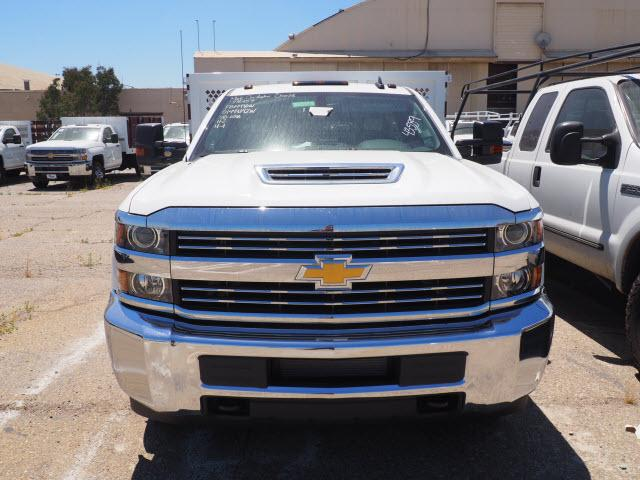 2018 Silverado 3500 Regular Cab DRW 4x2,  Harbor Stake Bed #23434 - photo 3