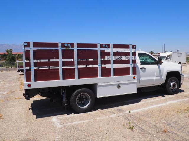 2018 Silverado 3500 Regular Cab DRW 4x2,  Harbor Stake Bed #23434 - photo 11