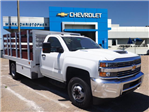 2018 Silverado 3500 Regular Cab DRW 4x2,  Harbor Stake Bed #23434 - photo 1
