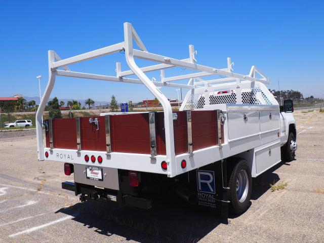 2018 Silverado 3500 Regular Cab DRW 4x2,  Royal Contractor Body #23435 - photo 2
