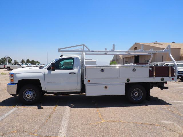 2018 Silverado 3500 Regular Cab DRW 4x2,  Royal Contractor Body #23442 - photo 11