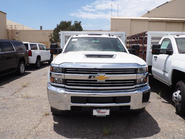 2018 Silverado 3500 Regular Cab DRW 4x2,  Royal Stake Bed #23443 - photo 3