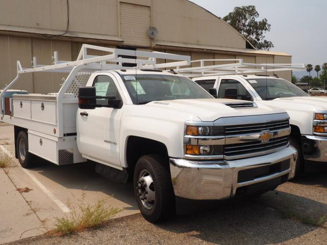 2018 Silverado 3500 Regular Cab DRW 4x2,  Royal Contractor Body #23445 - photo 11