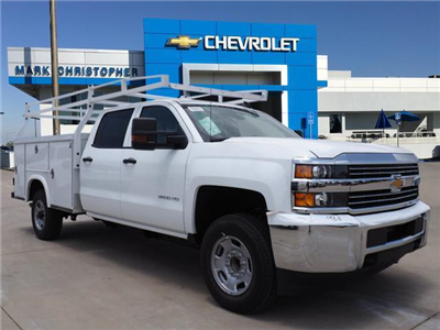 2018 Silverado 2500 Crew Cab 4x2,  Royal Service Body #23448 - photo 1