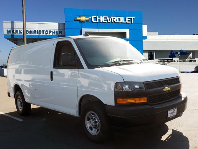 new 2018 chevrolet express 2500 upfitted cargo van for sale in