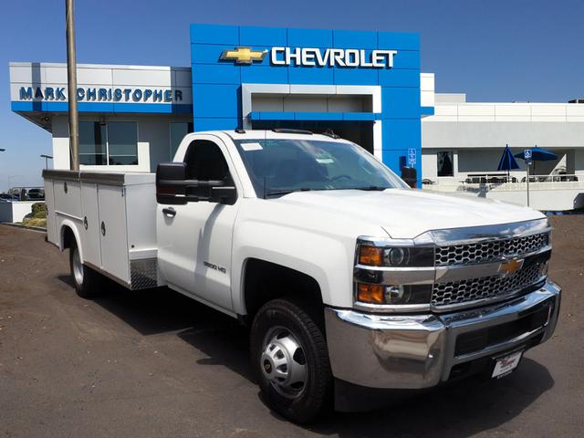 2019 Silverado 3500 Regular Cab DRW 4x2,  Royal Service Body #23698 - photo 1