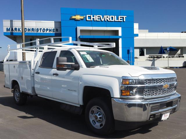 2019 Silverado 2500 Crew Cab 4x2,  Royal Service Body #23710 - photo 1