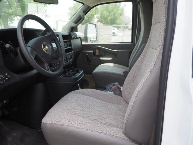 2019 Express 3500 4x2,  Morgan Parcel Aluminum Cutaway Van #23713 - photo 8
