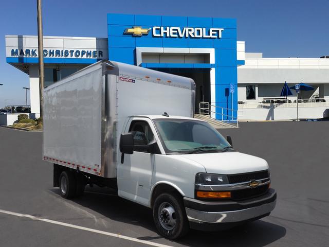 2019 Express 4500 4x2,  Morgan Parcel Aluminum Cutaway Van #23741 - photo 1