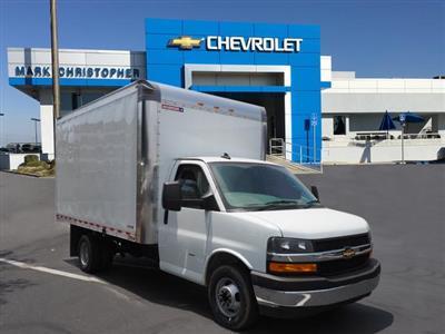 2019 Express 4500 4x2, Morgan Parcel Aluminum Cutaway Van #23771 - photo 1