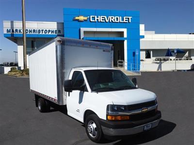 2019 Express 4500 4x2,  Morgan Parcel Aluminum Cutaway Van #23773 - photo 1