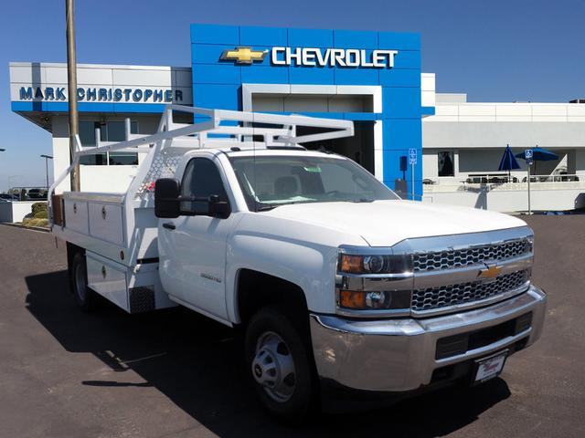 2019 Silverado 3500 Regular Cab DRW 4x2,  Royal Contractor Body #23797 - photo 1