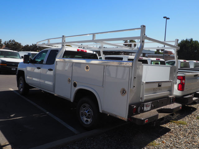 2019 Silverado 2500 Double Cab 4x2, Royal Service Body #23857 - photo 2