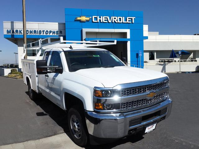 2019 Silverado 2500 Double Cab 4x2,  Royal Service Body #23861 - photo 1