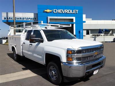 2019 Silverado 2500 Double Cab 4x2, Royal Service Body #23863 - photo 1