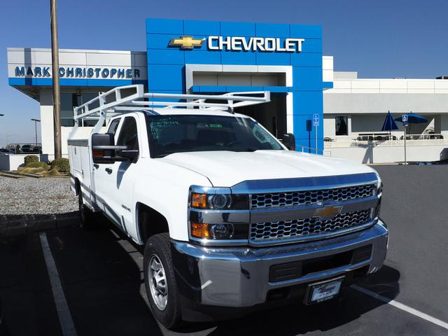 2019 Silverado 2500 Double Cab 4x2, Royal Service Body #23870 - photo 1