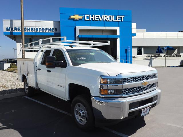 2019 Silverado 2500 Double Cab 4x2, Royal Service Body #23906 - photo 1