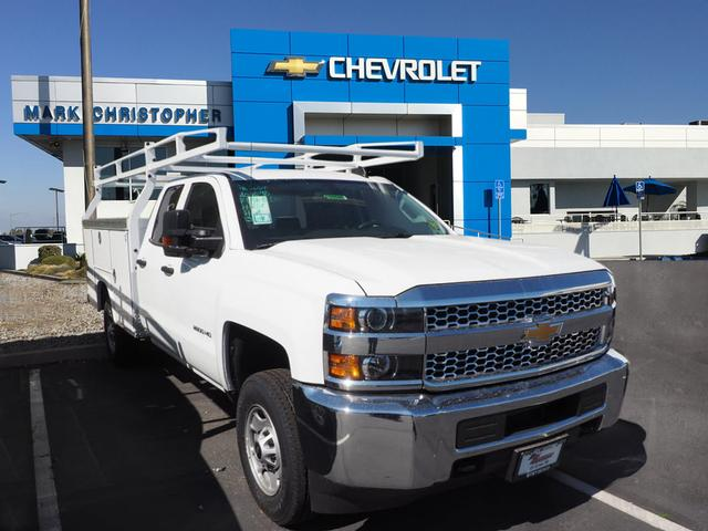 2019 Silverado 2500 Double Cab 4x2, Royal Service Body #23940 - photo 1