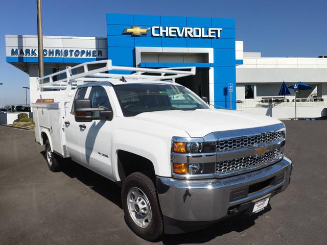 2019 Silverado 2500 Double Cab 4x2, Royal Service Body #23943 - photo 1