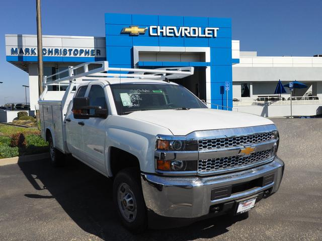 2019 Silverado 2500 Double Cab 4x2, Royal Service Body #23948 - photo 1